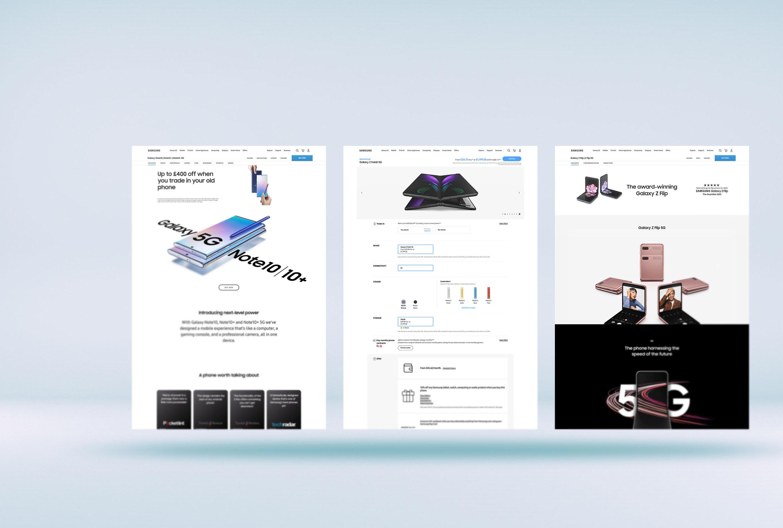 Samsung.com 고도화 지원